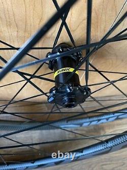MAVIC COSMIC SSC Tubeless/clincher wheels road bike carbon. Disc Brake