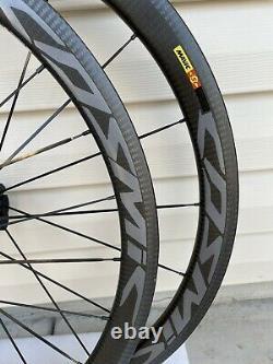 MAVIC COSMIC SSC clincher wheels road bike carbon. Rim Brake