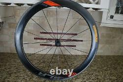 MINT Giant SLR 1 55MM Aero Full Carbon Road Wheels Wheelset + Tires + Skewers