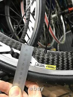 Mavic Cosmic Carbon SLS wheels 700c road race bike #18