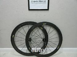 Mavic Cosmic Carbone C40 Elite Road Race Bike Wheels Wheelset Pro SES enve SL