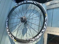 Mavic Cosmic Carbone SLS Carbon Fibre Clincher Rim Brake Road Bike Wheels