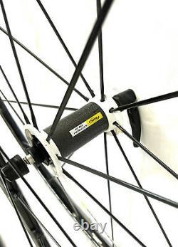 Mavic Ksyrium SLS Road Bike Clincher Wheelset Alloy / Carbon Front Hub 700c