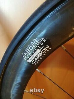 Miche Supertype carbon fibre road bike wheels 700c