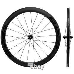 NEW 700C Superteam Carbon Wheels 50mm Road Bike Wheelset R17 Hub Racing wheels