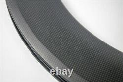 New 700C 88mm Road bike 3K/UD/12K full carbon fibre bicycle wheels clincher rim