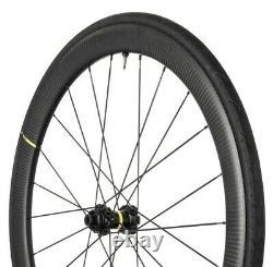 New Mavic Ksyrium Pro Carbon UST Disc Road Cycling Tubeless Wheeleset, Black