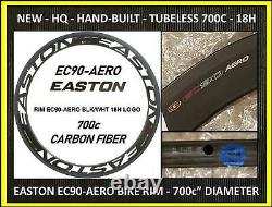 Nib Easton Rim Ec90 Aero Time Trial 700c 56mm 18h Tubeless Road Wheel Tire