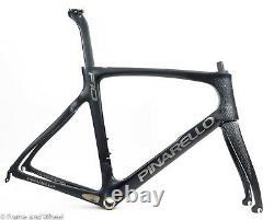 Pinarello Dogma F10 59.5cm carbon frameset Italian BB Di2 QR rim road 170 BOB