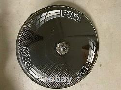 Pro Disc Carbon Tubular 700C Rear Wheel Shimano Dura-Ace FH7800 ROAD 10 SPEED