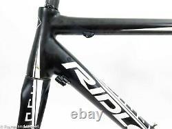 Ridley Helium ISP 53cm small carbon frame fork English road bike QR rim dual Di2