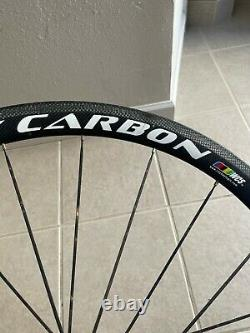 Ritchey 700c Front Carbon 38mm Deep Wheel Tubular Road Bike Bicycle