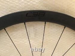 Roval C38 Carbon disc brake road wheels wheelset 700C Shimano/Sram NEW RRP £1250