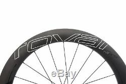 Roval CLX 64 Disc Road Bike Wheel Set 700c Carbon Tubeless Shimano 11 Speed