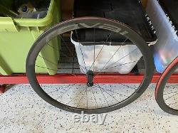 Roval Rapide CLX 40 FACT Carbon Wheelset Disc Clincher Disk Road Bike Wheels 11S