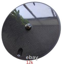 SALE! Premium carbon disc wheel 700c clincher track&road/TT bike light disc wheel