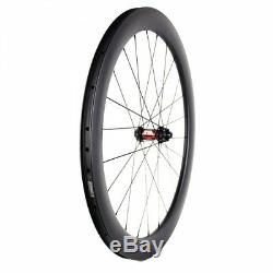 SHLbike 700c road disc brake bike wheels 240s hub carbon fiber wheelset CX