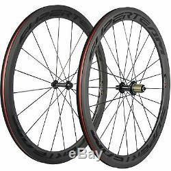 SUPERTEAM Basalt Braking Surface Clincher 50mm Carbon Wheels Road Bike Wheelset
