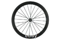 SUPERTEAM Carbon Road Bicycle Wheelset 50mm Clincher Wheel Super Light R13 Hub