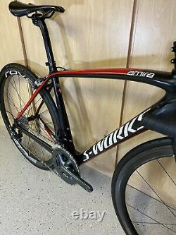 SUPER CLEAN! Specialized S-Works Amira Shimano Ultegra Road Bike WithCarbon Wheels