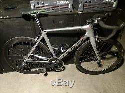 Scott Foil 15 Aero Road Bike sram red etap carbon wheelset, training wheels