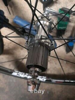 Shimano Dura Ace 1380 Carbon C24 700c Road Bike Wheels excellent