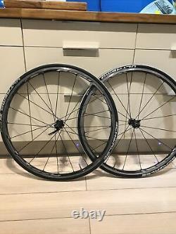 Shimano RS-81 700c carbon/aluminium wheels road race bike #9