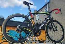 Specialized Venge Elite Ultegra Di2 Carbon Road Bike 54cm Speedsix 55 Evo Wheels