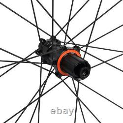 Stradalli 40mm Carbon Clincher Wheel 700C Road Bicycle Front Rear 27mm Rim