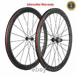 Superteam 50mm Carbon Wheels R13 Hub Road Bike Wheelset Clincher Race Wheels