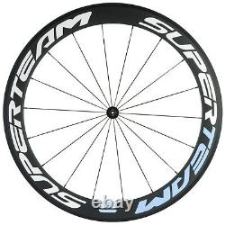 Superteam 60mm Carbon Wheelset Clincher with R7 Hub for Road BIke Wheels