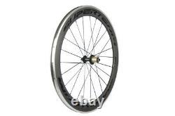 Superteam Alloy Brake Surface Carbon Wheelset 60mm Deep Road Bike Carbon Wheel