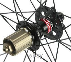 Superteam Carbon Wheelset Road Bike Disc Brake Wheels 50mm 25mm UCI Approved