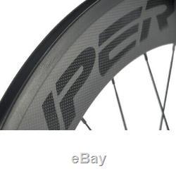Superteam Clincher Carbon Wheel 88mm Road Bicycle R13 Hub 700C Wheel Rear Only