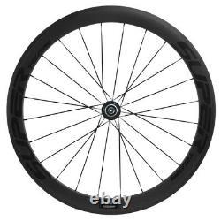 Superteam Clincher Carbon Wheelset 50mm Road Bike 700C Race Carbon Wheels Basalt