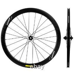 Superteam Disc Brake Carbon Wheels 45mm Road Tubeless Carbon Bicycle Wheelset