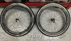 TAKEOFFS / HED Jet 6 Plus Carbon Road Wheelset Clincher Road Bike Wheels Black