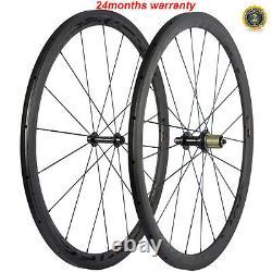 Tubular Carbon Wheels 38mm Road Bike Carbon Wheelset R13 Hub Superteam Wheel