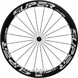 UCI 50mm Carbon Wheelset High Quality Clincher Road Bike 700C Superteam Wheels