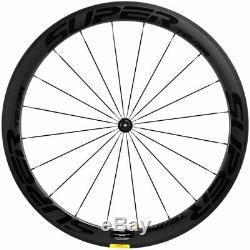 UCI Superteam Carbon Wheelset 50mm Depth 25mm U Road Bicycle Wheels