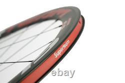 USA Superteam Carbon Wheelset Clincher Road Wheel Touring For Shiman0 10/11Speed