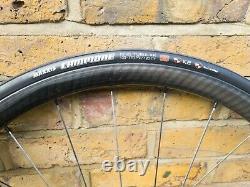 USE 3.0 Nano Tech Carbon Fibre Road Wheelset 700C Deep Rim TT Zipp Aero wheels