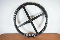 Vintage 700c SPINERGY REV X CARBON 7/8/9 Clincher Road Bike Wheels Wheelset