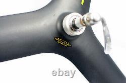 Vintage SPECIALIZED TRI SPOKE Carbon 700C Road Bike Clincher Rear Wheel Du Pont