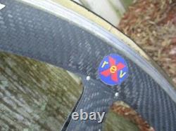 Vintage Spinergy REV 700x20C Carbon Fiber Bicycle Wheel for Road Bicycle