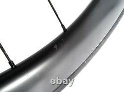 Vision Carbon Sc 55 Disc Brake Rear Road Bike Aero Wheels 700c New Free Uk P&p