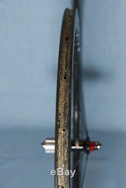 Vision Metron 40 Carbon Rear Tubular 700c Road Bike Wheel