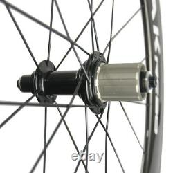 WINDBREAK 700C Carbon Wheels 60mm Road Bicycle Carbon Fiber Wheelset 23mm width