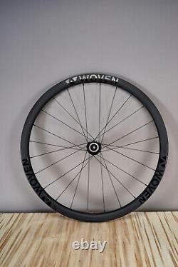 WOVEN Carbon Fibre 35mm 700C 10 11 Speed Wheel 12mm Disc Cross Gravel Road $799