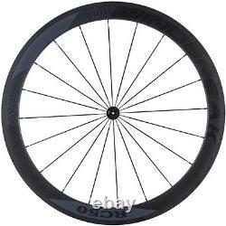 WindBreak 700C Carbon Road Bike Wheels 50mm Light Weight Road Bicycle Wheelset